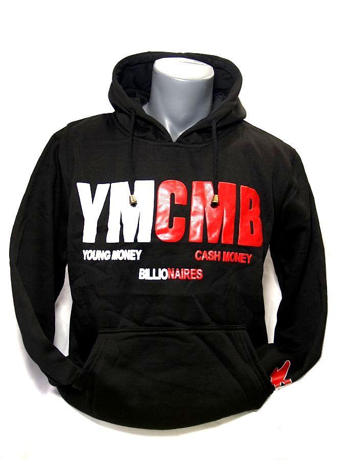 c54e21b1260 Хип Хоп суичър Young Money Cash Money - Black   Online HipHop shop ...