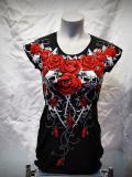 Туника Lady Skulls Rose